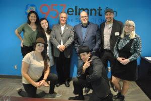 ELMNT FM Launch Day